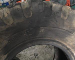 Боковой ремонт грузовой шины - картинка завода ReNova